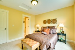 description of master bedroom